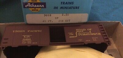 HO Athearn UP Union Pacific The Streamliners 40' Box Car #184241