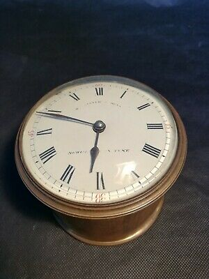 French Clock Movement For Spares Or Repair