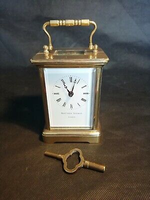 Matthew Norman London Carriage Clock