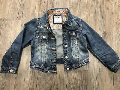 NEXT. Girls Denim Jacket. Age 5-6yrs.