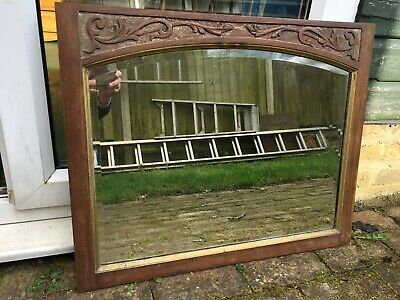 Beautiful VINTAGE Carved Wall Mirror