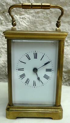 Striking Carriage Clock - Gong Half Hour & Hour
