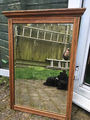 Beautiful VINTAGE ANTIQUE Solid Wood Mirror