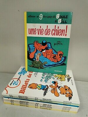 BOULE ET BILL . lot de 8 BD Bandes dessinées