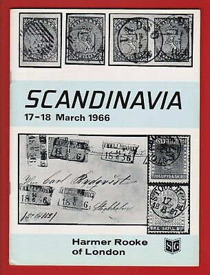 Auction Catalogue – Specialised Scandinavia Stamps & Covers