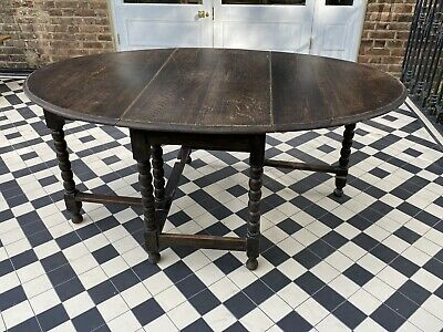 Gate Leg Table, Oval Table, Drop Leaf Table