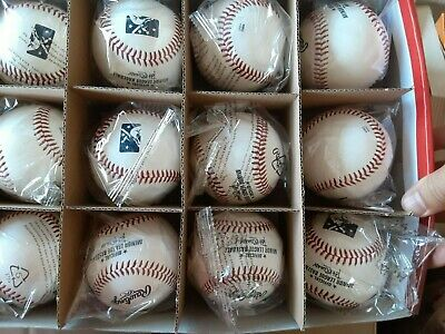 1 Dozen 12 Rawlings Official Leather Minor League Baseball Box MLB - Sealed