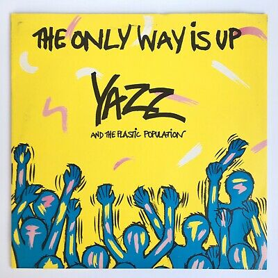 """Yazz And The Plastic Population - The Only Way Is Up - 12"""" Vinyl Record Single"""