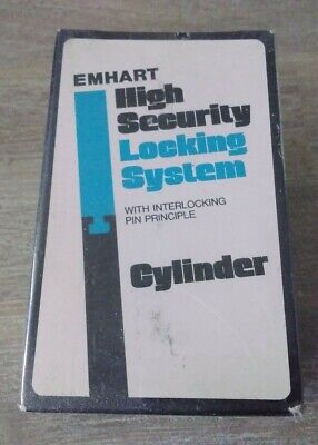 New Sealed Emhart High Security Mortise Cylinder Lock 1 1/8 TOTE 3