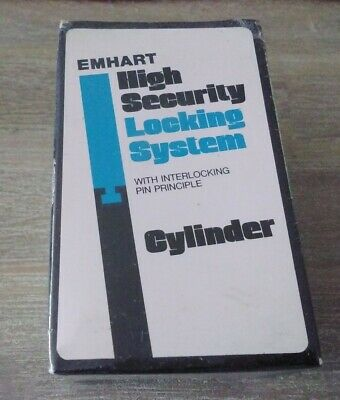 New Sealed Emhart High Security Mortise Cylinder Lock 1 1/4 TOTE 3