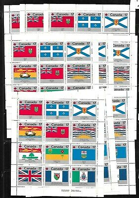 Lot# 9 Canada  Scott# 832 A   Stamps mint N H    10  S S  Face value $ 20.40