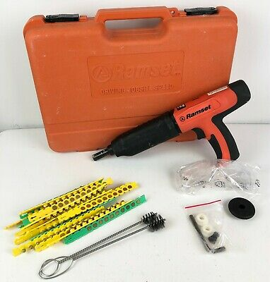 Ramset Cobra Plus + Cobra+ Powder Actuated Fastener Gun 27 Caliber Tool