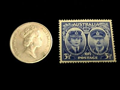 Australia Collection - Unused Stamp & 10 Cents Used Coin - Educational Item