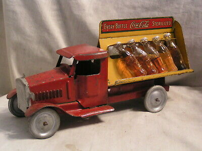 1930'S Steelcraft Made Coca Cola Truck