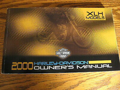 2000 Harley-Davidson Sportster Owner's Owners Manual XL XLH 883 1200