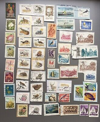 South Africa Mixed Used Postage Stamps X 58