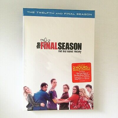 The Big Bang Theory Season 12 Complete Twelfth and Final Series (DVD, 3-Disc)