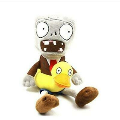 PVZ PLANTS vs. ZOMBIES Ducky Tuber Zombie Plush Doll Stuffed Kids Toy Gift 10""