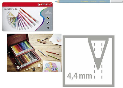 STABILO Carbothello Pastel Chalk Pencil Set in Metal Tin - Assorted Colours (Pac