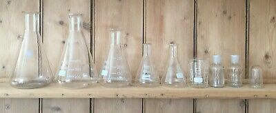 Vintage Pyrex Laboratory Flasks & other lab equipment - Job Lot different sizes