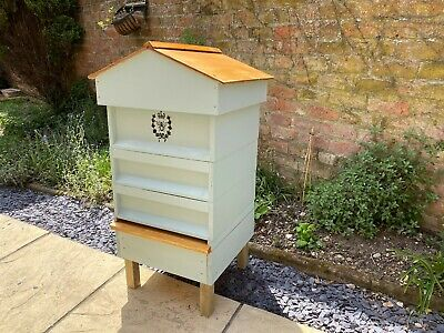 Lovely Hand Made Ornamental Bee Hive LARGE - composter- storage