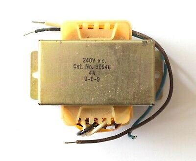 Model Railway Mains Transformer 9094C 4A Chassis Mounting