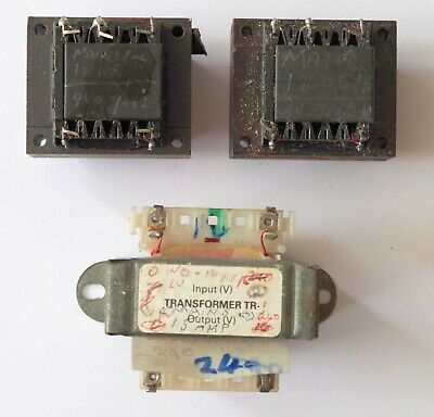3x Model Railway Mains Transformer Chassis Mounting