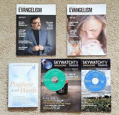Voice of Evangelism Magazines Perry Stone + Prophetic Words Book + FREE Items!