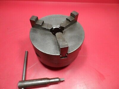 "Machinist Lathe Tool: Monarch 10 EE 5"" 3-Jaw Chuck D3"