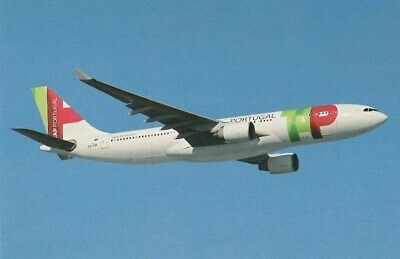 advertisement postcard - TAP PORTUGAL -  Portugal AIRLINES