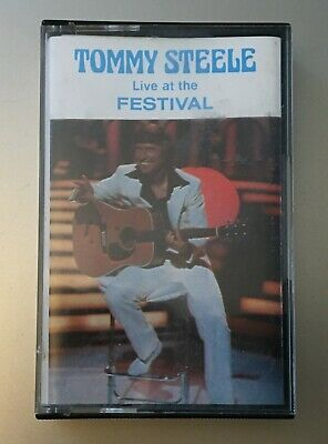 Tommy Steele - Live at the Festival, MC / Cassette Oak Records
