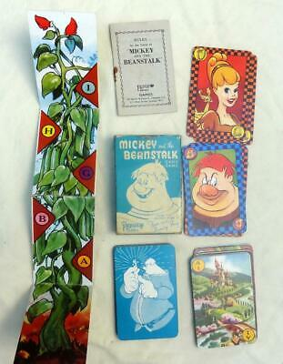 Pepys Playing Cards - Mickey And The Beanstalk - Walt Disney