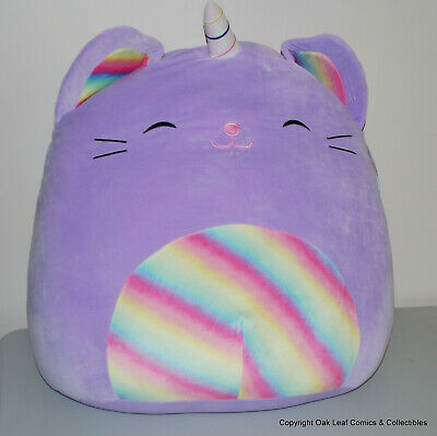 """Hans the Brown Hedgehog HUGE Squishmallow 24/"""" 24 Inch New With Tags WOW!"""