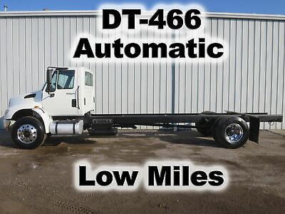 4400 Dt-466 Automatic Cab Chassis Straight Frame Heavy Duty Work Truck