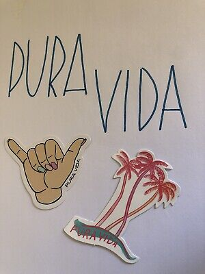 Pura Vida Sticker Pack-Comes With 2 Stickers