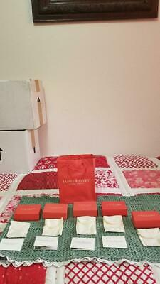 Lot JAMES AVERY Empty Boxes, Cards, and Pouches!   15 pc    Excellent condition!