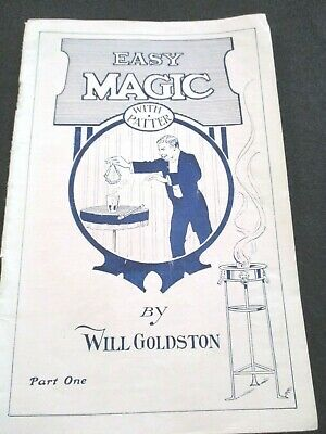 RARE Easy Magic by Will Goldston