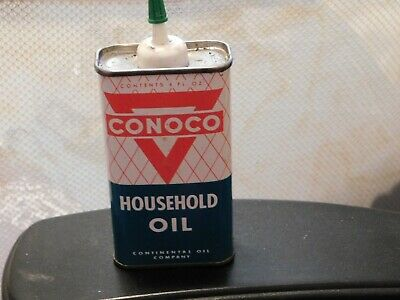Conoco Household Oil Can