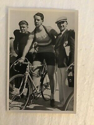 1936 German Olympic Bike Champagne Muscular Man Affection Gay interest