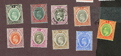 Southern Rhodesia F-Vf Mh And Used  (Mey25,2