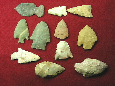 KENTUCKY ARROWHEADS   Guaranteed Authentic Indian Relics