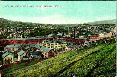 C36-4851, The Arnold Print Works, North Adams, Mass., Postcard.