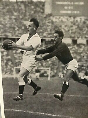 Olympia 1936 Germany Soccer Champions Males Photo affectionate action shot