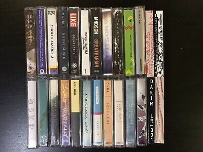 Cassette Lot of 26 Tapes - Hip Hop, lo-fi, Leaving Records, Ras G, Mndsgn, etc