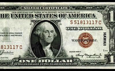 $1 1935 A (( EXTREMELY FINE ))  ** HAWAII **  Silver Certificate * MORE FOR SALE