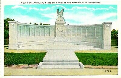 C36-5388, New York Auxiliary State Memorial, New York, Ny. Postcard.