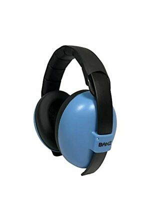 BANZ Mini Earmuffs, Blue, Small