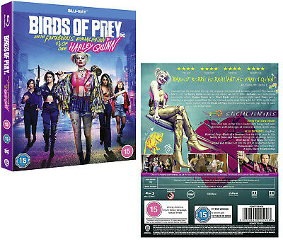 BIRDS OF PREY And the Fantabulous Emancipation of One Harley Quinn: RgFr BLU-RAY