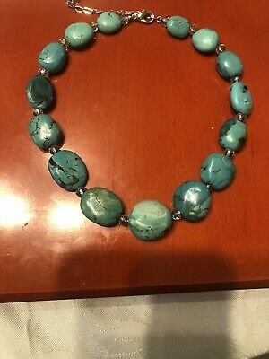 Turquoise Necklace Vintage