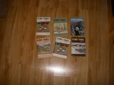 6   1959  Ford Times  Magazines